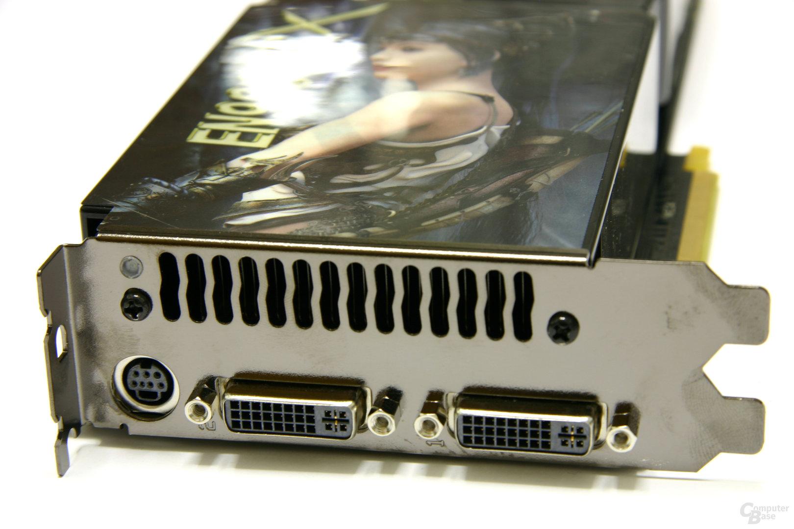 EN9800GTX Slotblech