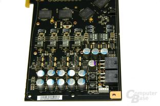 GeForce 9800 GTX Spannungswandler