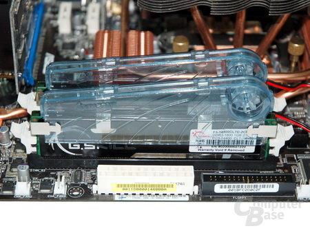 G.Skill DDR3-1800 mit Lüfter
