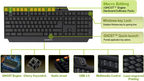 Gigabyte GK-K8000