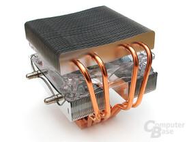 Heatpipe-Sechserpack mit nettem Schwung