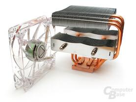 Transparenter 120-mm-Fan – nicht ganz nebengeräuschsfrei
