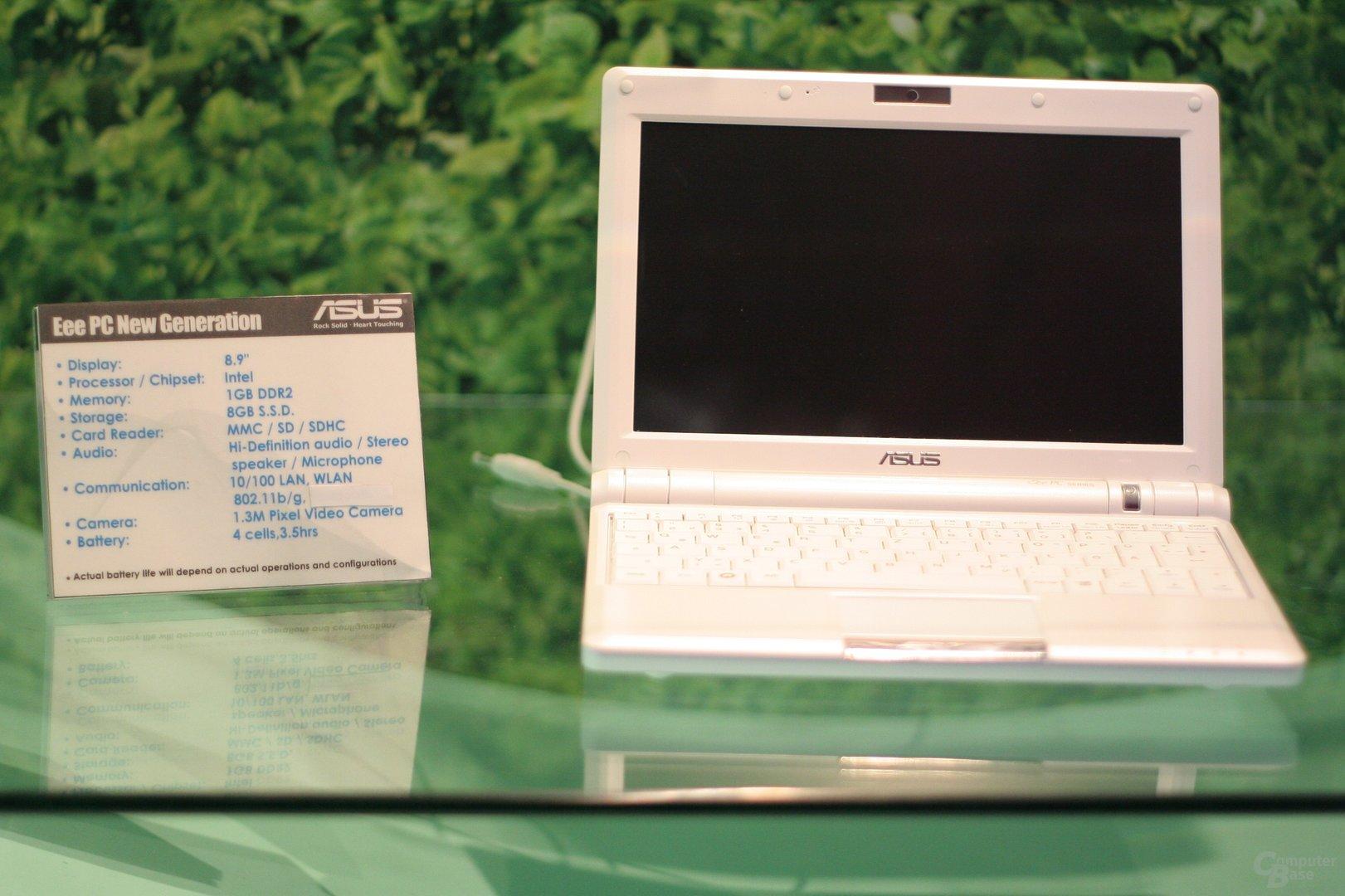 Asus Eee PC 900 mit 8,9-Zoll-Display