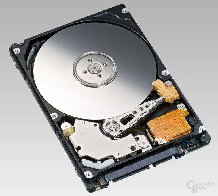 """Erste 2,5""""-HDD mit 320 GB und 7200 U/min von Fujitsu"""