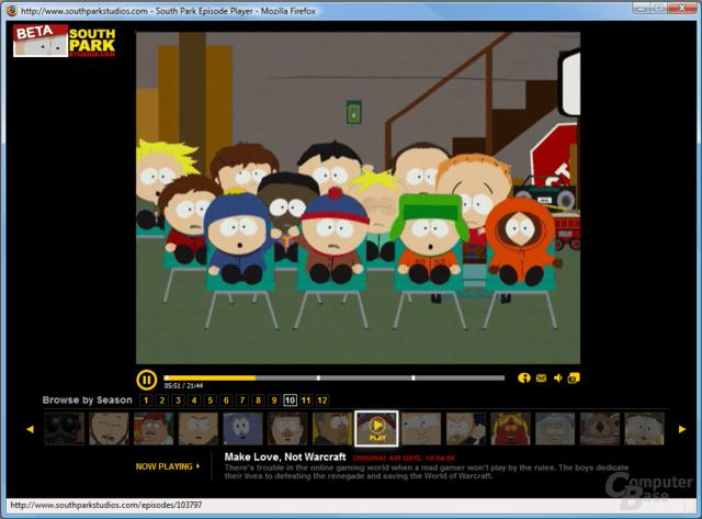 South Park kostenlos im Internet