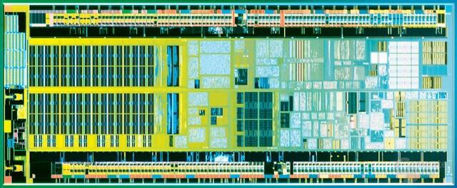 Intel Silverthorne Die-Shot