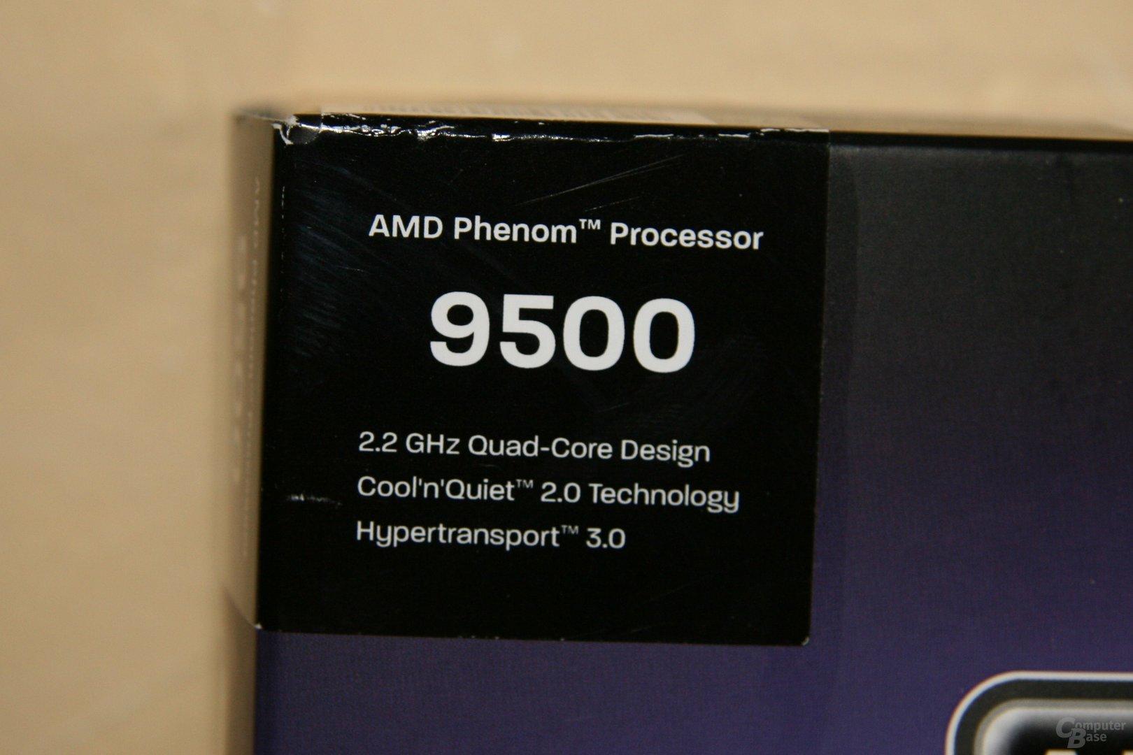 Aktuelle Beschreibung eines Phenom 9500