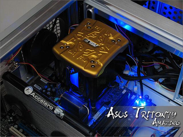 Asus Triton 79 Amazing – ordentlicher Kühler für Asus-Freunde