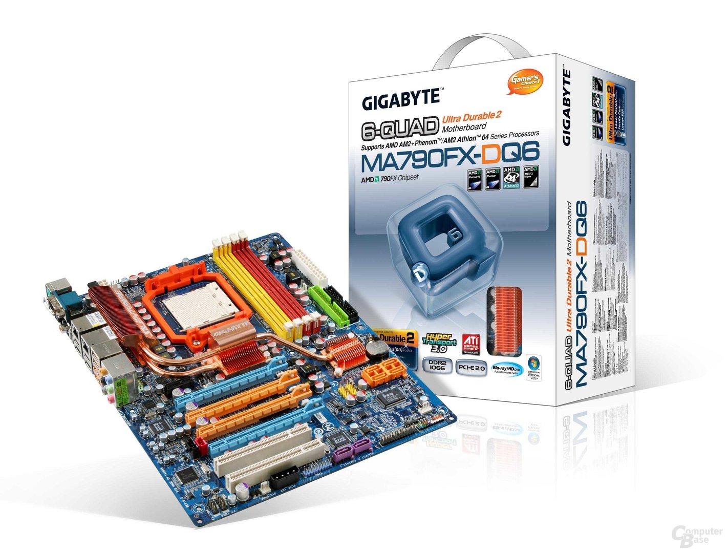 Gigabyte MA790FX-DQ6 (790FX)