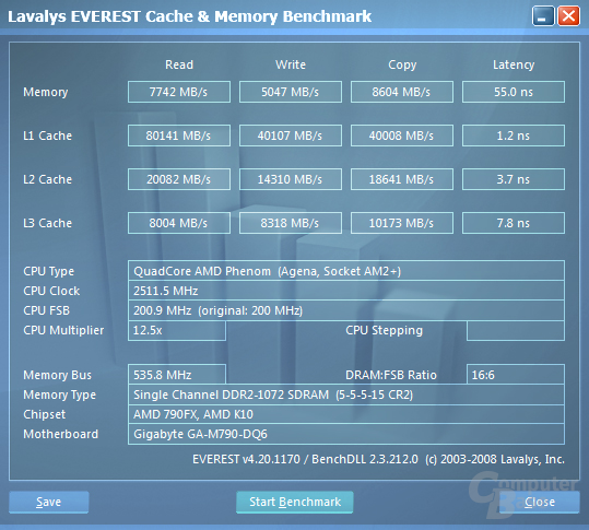 Everest Benchmark