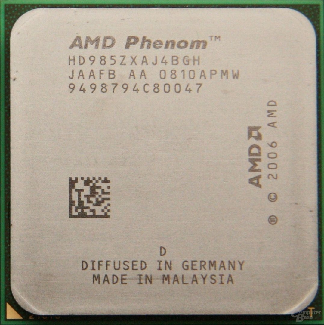 AMD Phenom X4 9850 Black Edition