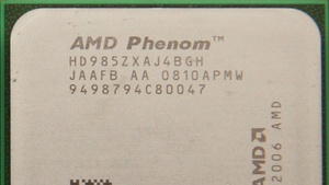 AMD Phenom X4 9850 Black Edition im Test: Hitzkopf ohne grünen Daumen