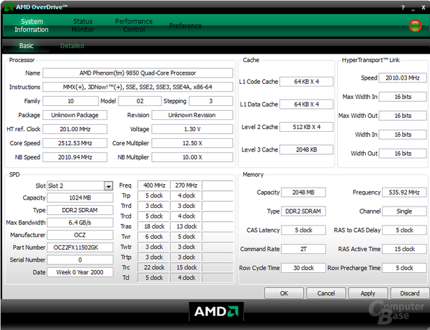AMD OverDrive (AOD)