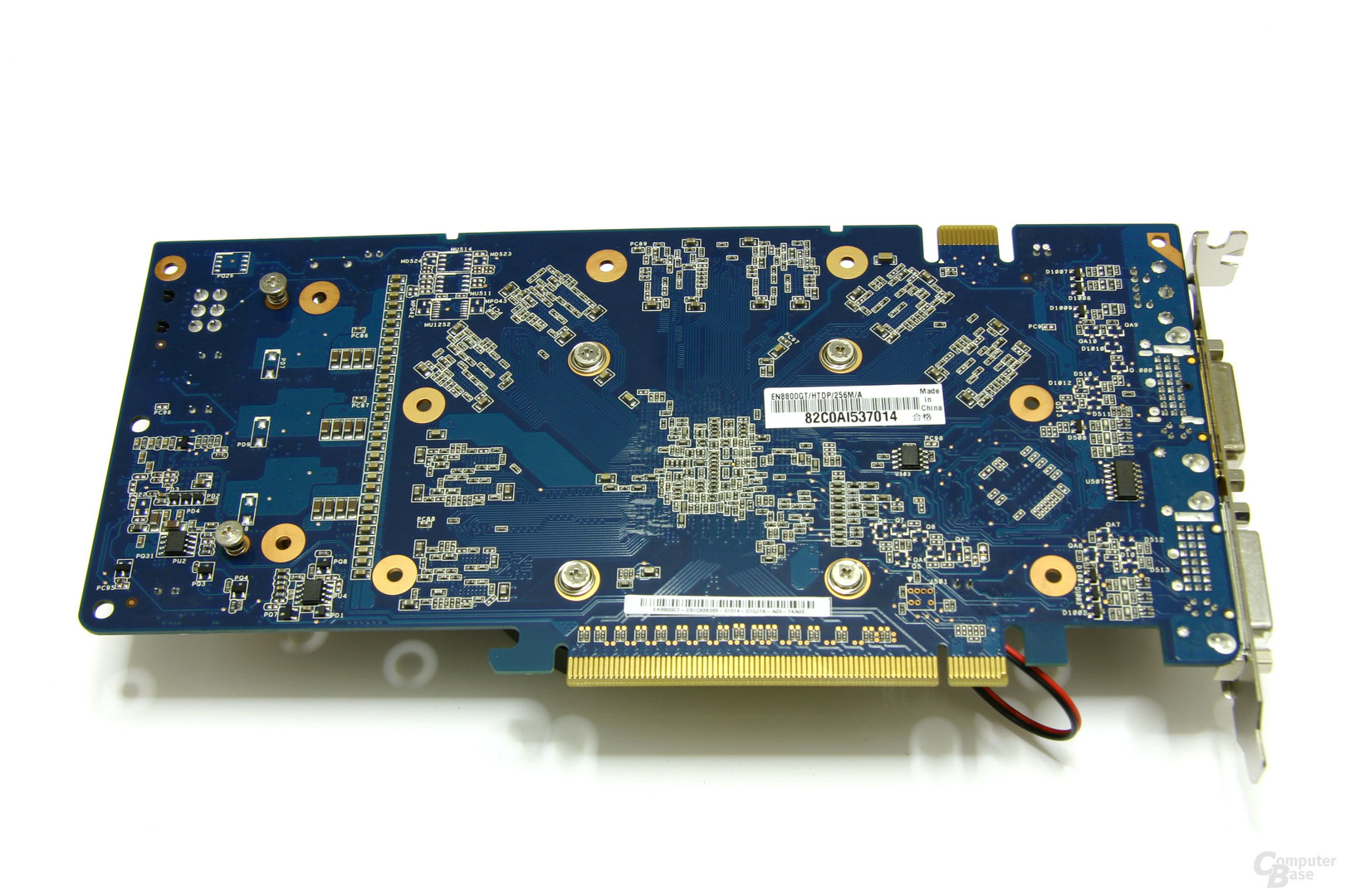 GeForce 8800 GT 256 MB Rückseite