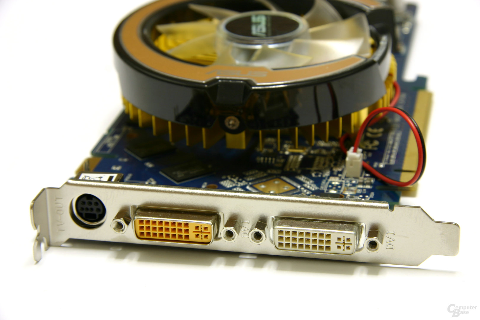 GeForce 8800 GT 256 MB Slotblech