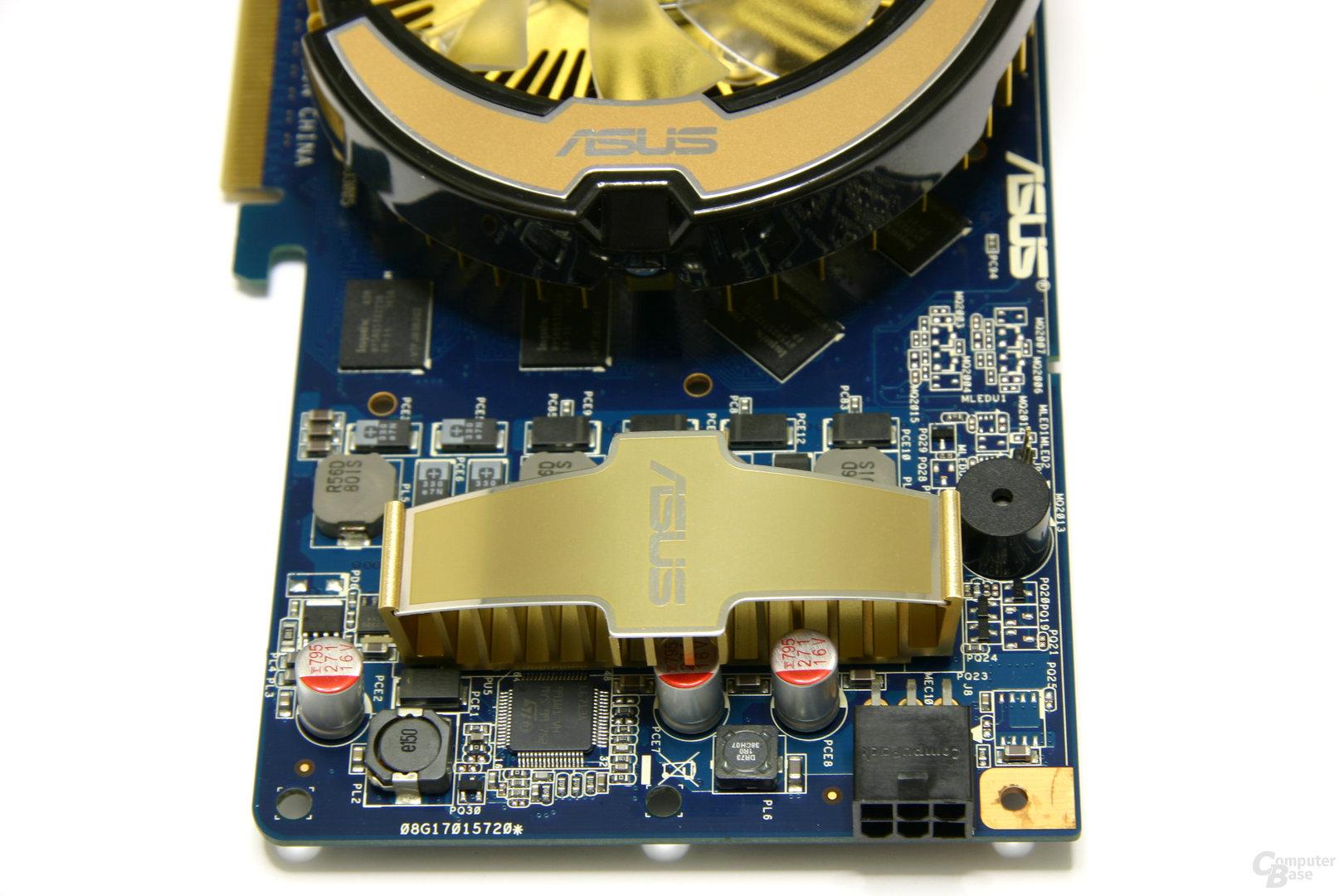 GeForce 8800 GT 256 MB Spannungswandler