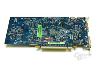 Radeon HD 3850 1024 MB Rückseite