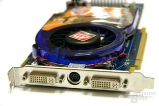 Radeon HD 3850 1024 MB Slotblech