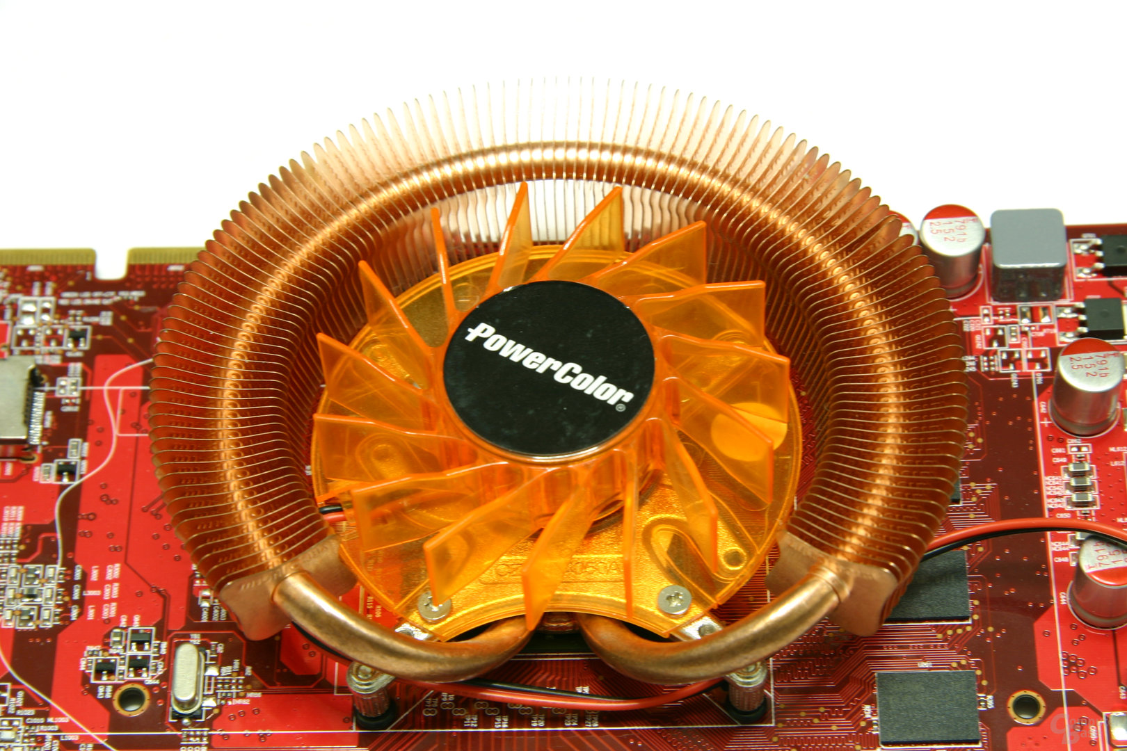Radeon HD 3850 512 MB Lüfter