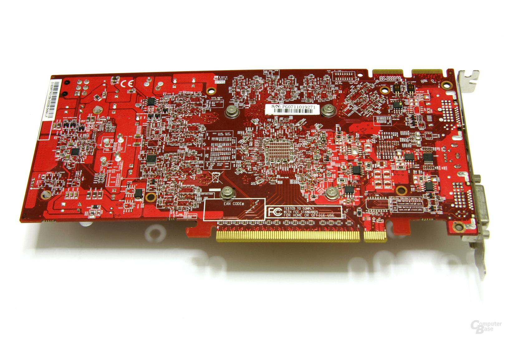 Radeon HD 3850 512 MB Rückseite