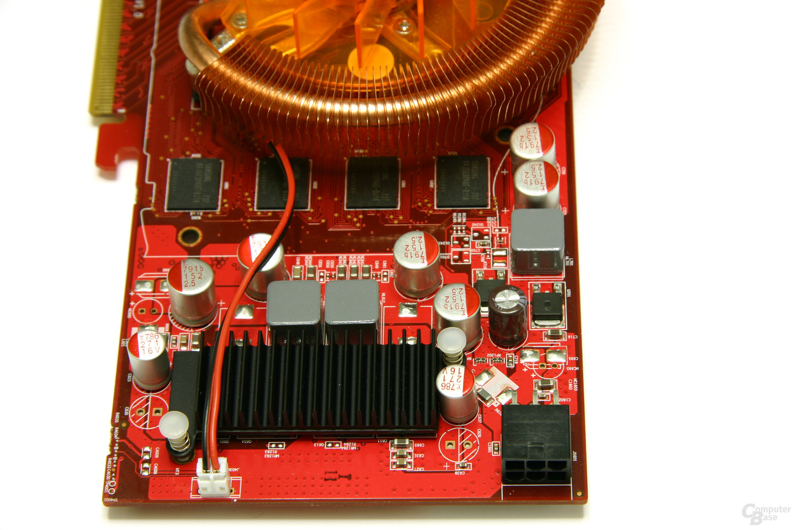 Radeon HD 3850 512 MB Spannungswandler