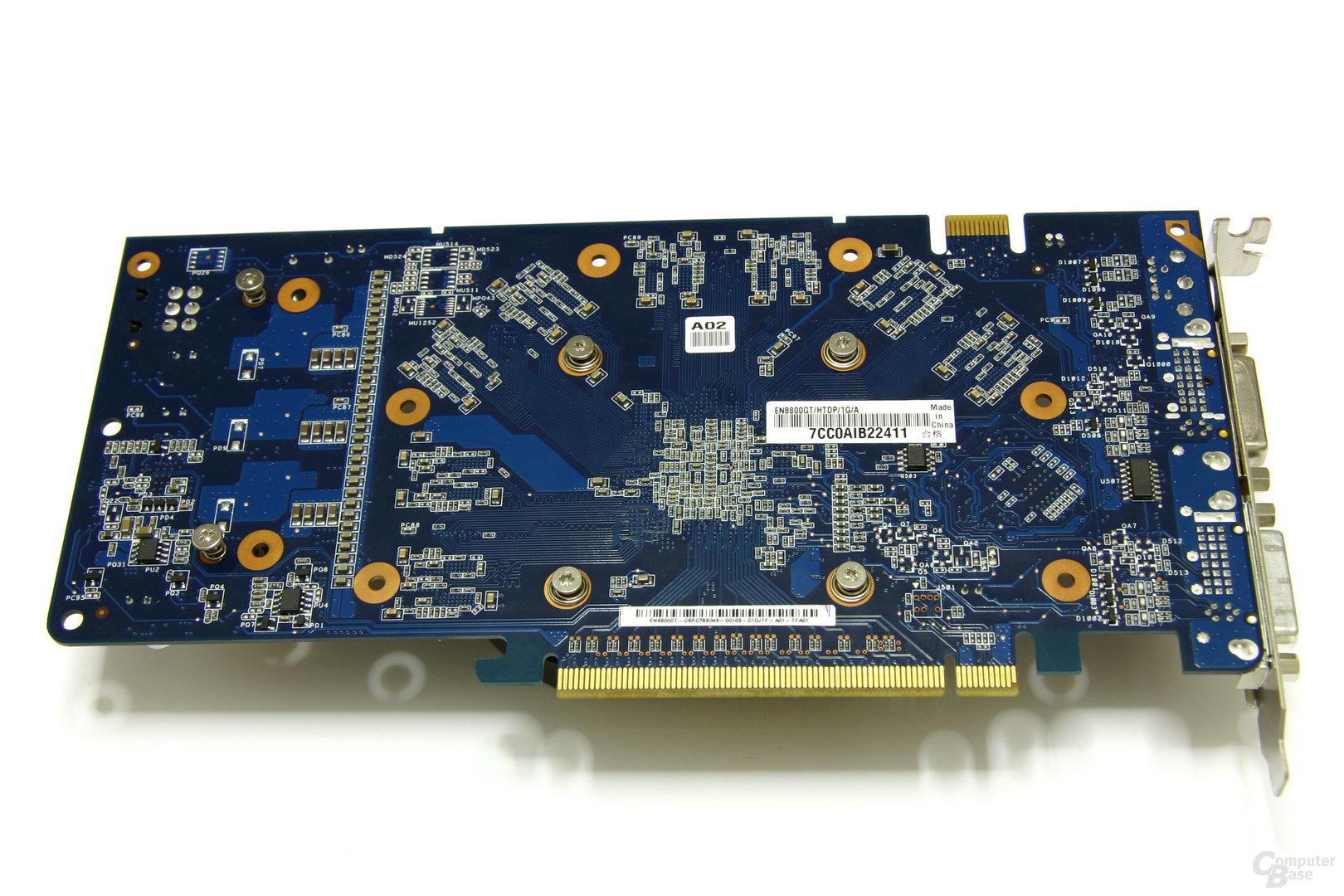 GeForce 8800 GT 1024 MB Rückseite