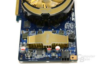 GeForce 8800 GT 1024 MB Spannungswandler