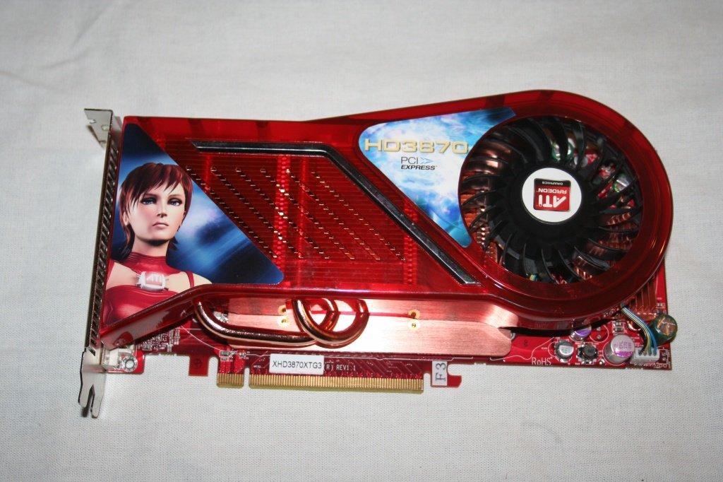 Diamond Radeon HD 3870 mit 1.024 MB GDDR3 und 512-Bit-Speicherinterface