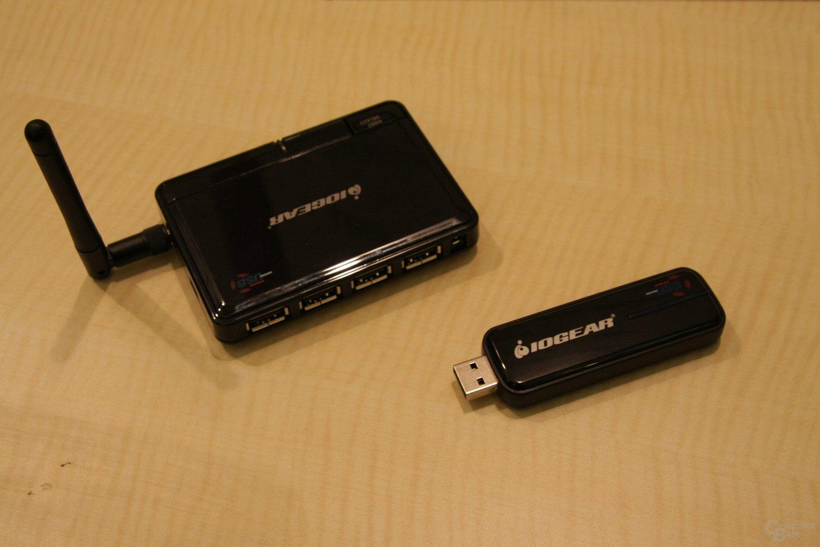 IOGear Wireless USB Geräte