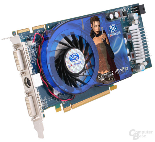 Sapphire Radeon HD 3870 im Single-Slot-Design