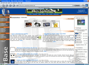 ComputerBase in Netscape 6.2.1