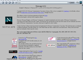 Hinter den Kulissen arbeitet immer noch Mozilla 0.94