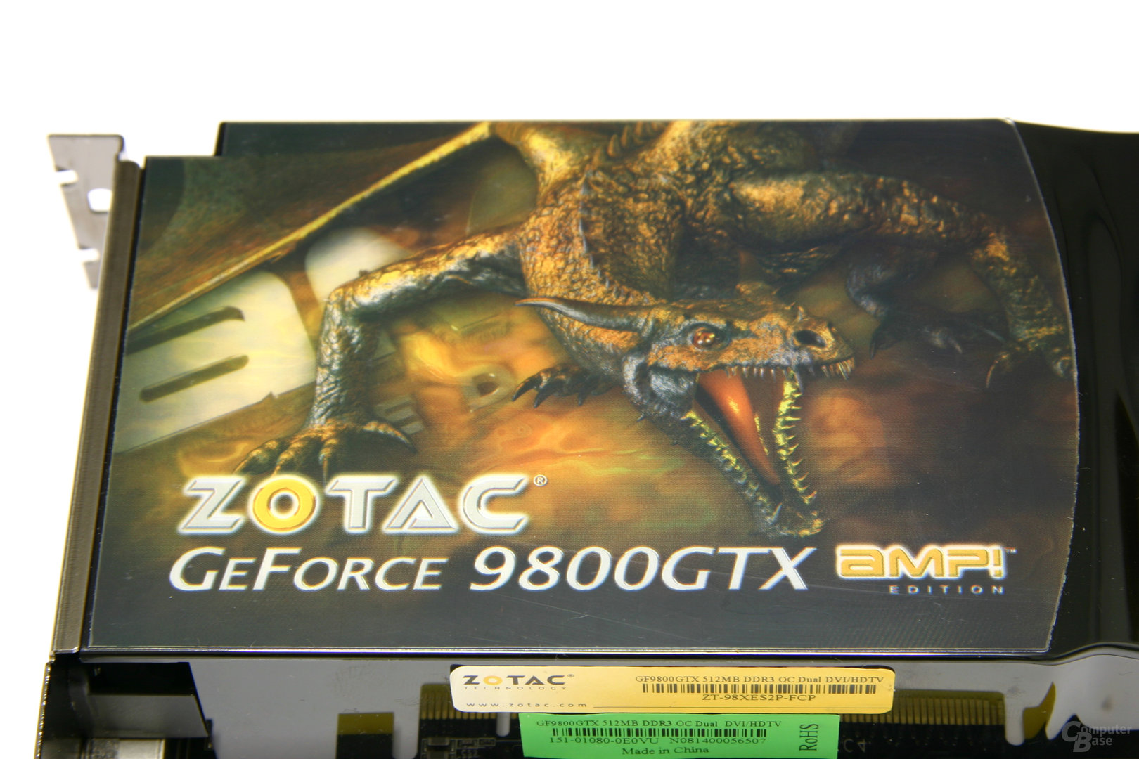GeForce 9800 GTX AMP! Edition Logo