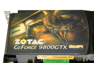 GeForce 9800 GTX AMP! Edition Logo