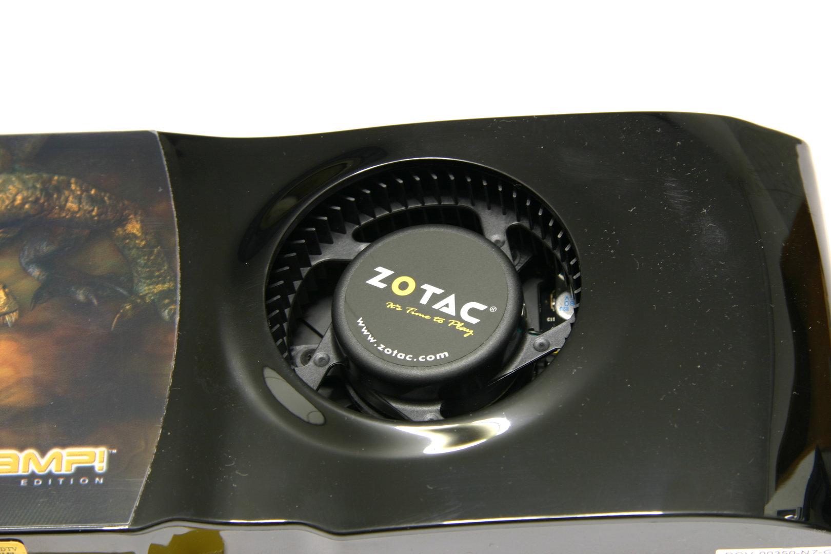 GeForce 9800 GTX AMP! Edition Lüfter