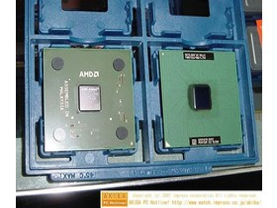 Athlon XP Grün vs. Intel Pentium 3