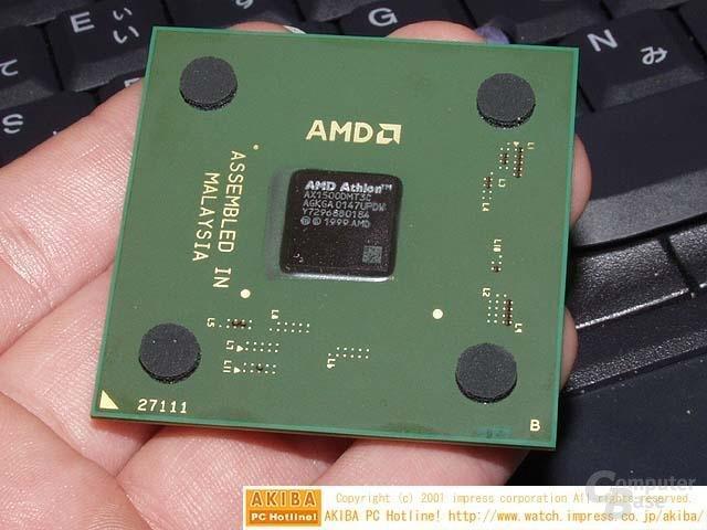 Athlon XP Grün (Oben)