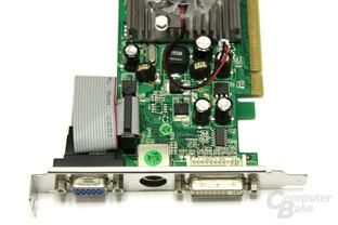 GeForce 8400 GS Vorderseite