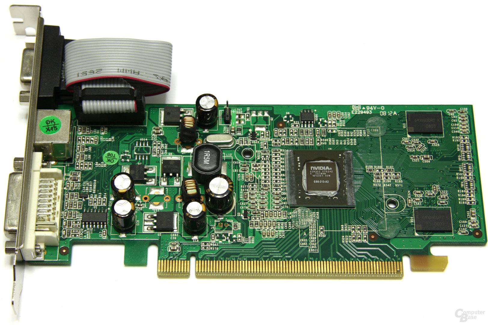 GeForce 8400 GS ohne Kuehler