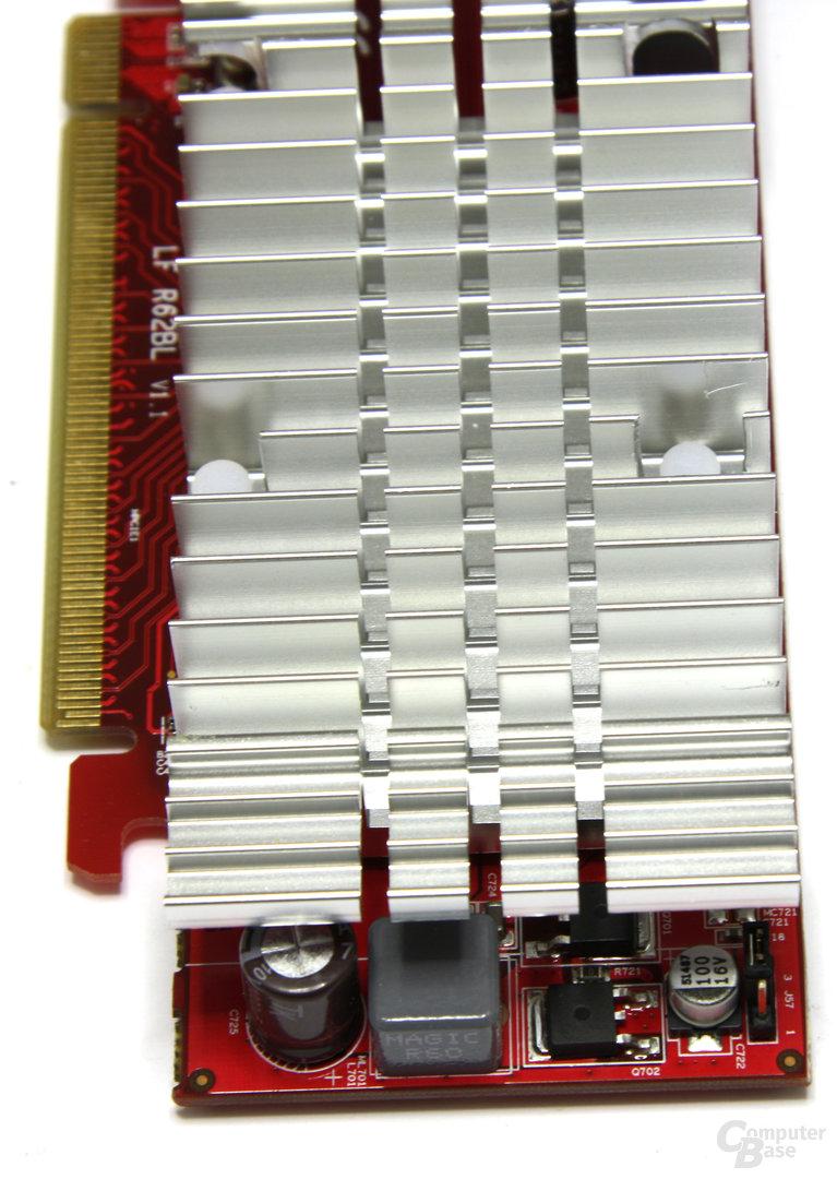 Radeon HD 3450 Spannungswandler