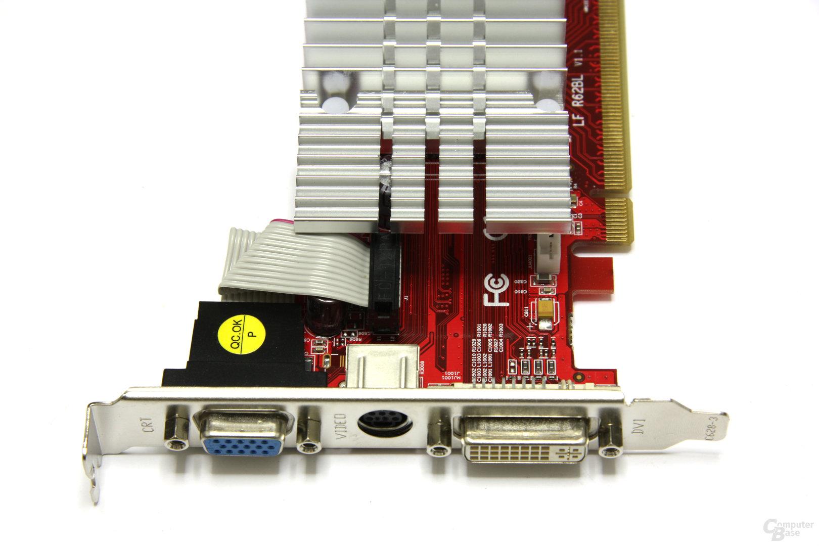 Radeon HD 3450 Vorderseite