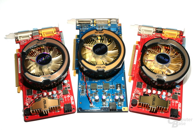Asus EAH3850 OC Gear, EN9600GT Top & EAH3850 Top