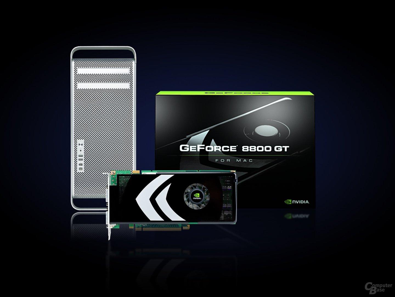 Ältere Mac Pro jetzt auch mit GeForce 8800 GT