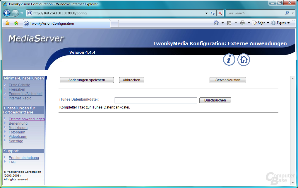 TwonkyVision MediaServer