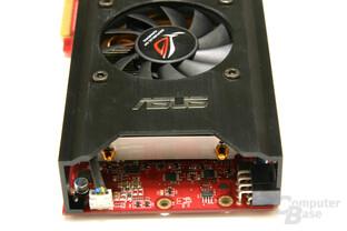 Radeon HD 3850 X2 Rückansicht