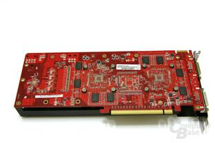 Radeon HD 3850 X2 Rückseite