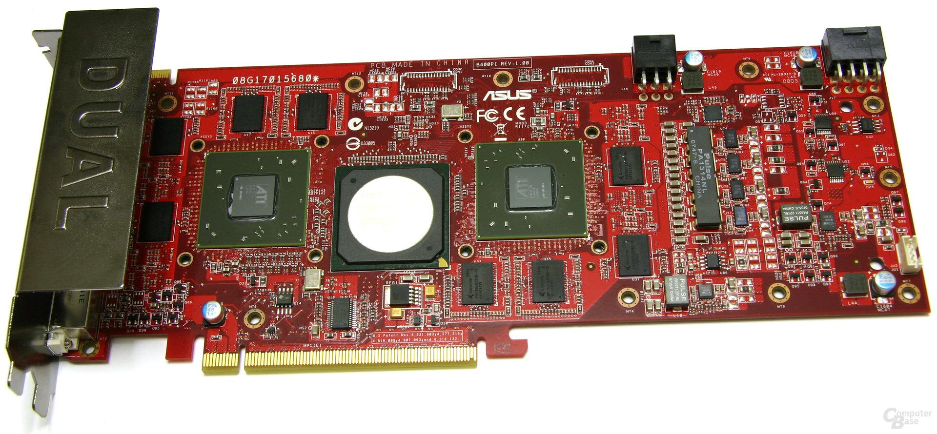 Radeon HD 3850 X2 ohne Kühler