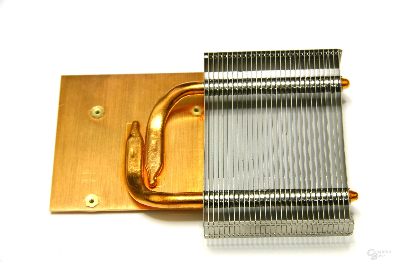 Radeon HD 3850 X2 Kühleroberseite
