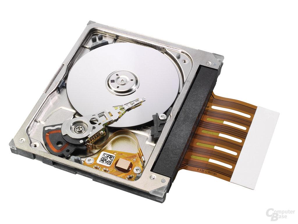 ST1 - 2005: Erste 1-Zoll-Festplatte mit 8 GB