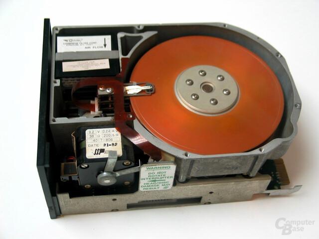 ST506 - 1980: Erste 5,25-Zoll-Festplatte